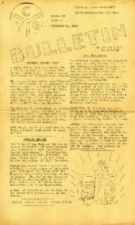 C.Y.O. Bulletin Volume II, Issue 6