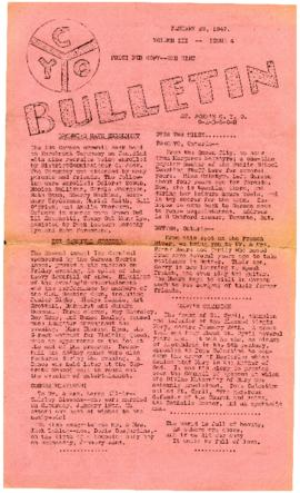 C.Y.O. Bulletin Volume III, Issue 4
