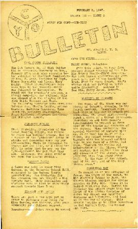 C.Y.O. Bulletin Volume III, Issue 5