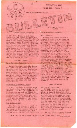 C.Y.O. Bulletin Volume III, Issue 7
