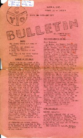 C.Y.O. Bulletin Volume III, Issue 9