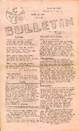 C.Y.O. Bulletin Volume IV, Issue 3